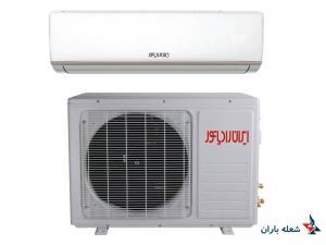 کولر گازی اسپلیت ایران رادیاتور 9000 مدل IAC-09CH/A